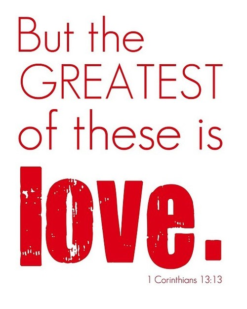 wmscog but the greatest of these is love followers of